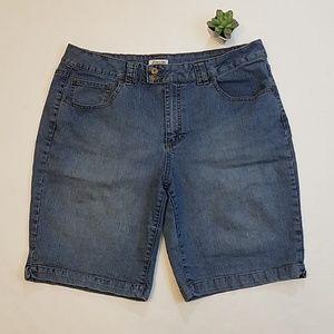 St. John's Bay Stretch Jean Shorts